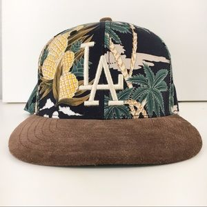 Other - LA hat fresh Cali Pattern  SnapBack